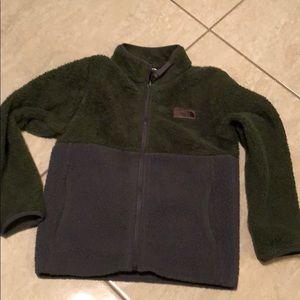 The North Face fleece zip up sweater